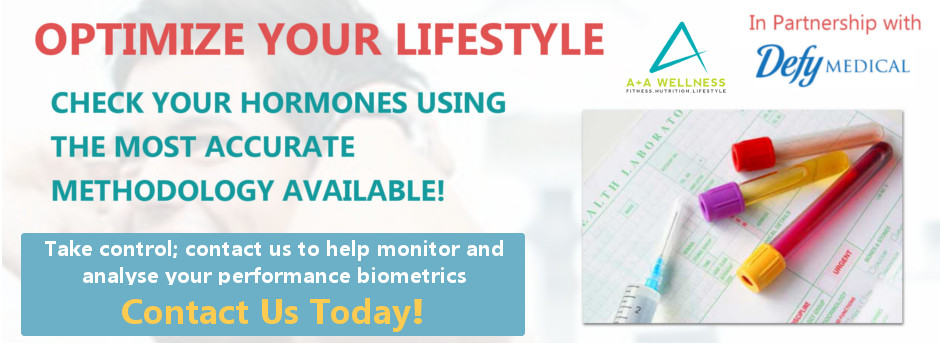 Optimize Your Lifestyle - DefyMedical and A+A Wellness Blood Tests